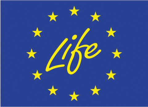 Logo for EU life Program
