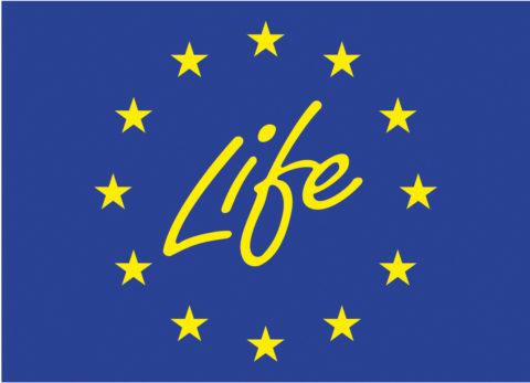 Logo for EU life Program